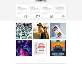 Nro 10 kilpailuun Design a Website Mockup for Graphics website käyttäjältä superock