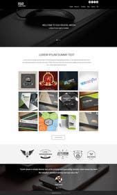 Nro 39 kilpailuun Design a Website Mockup for Graphics website käyttäjältä ankisethiya