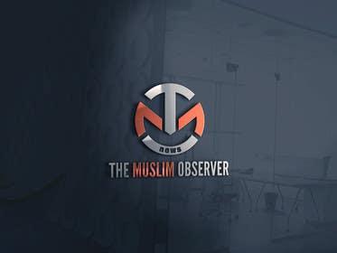 #103 untuk Design a Logo for THE MUSLIM OBSERVER oleh zubidesigner