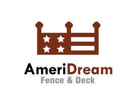 #47 cho Design a Logo for Ameridream Fence & Deck bởi NadirSetif