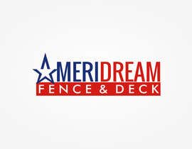 #24 for Design a Logo for Ameridream Fence & Deck af anibaf11