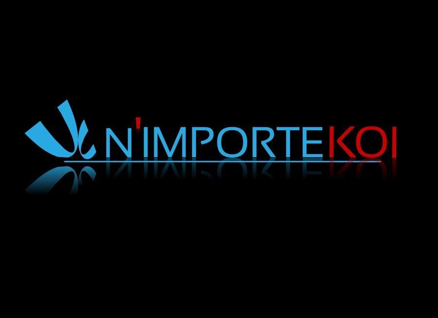 Kilpailutyö #36 kilpailussa Concevez un logo for N'importeKoi.com