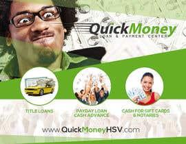 #17 untuk Design a Flyer for QuickMoney oleh thonnymalta