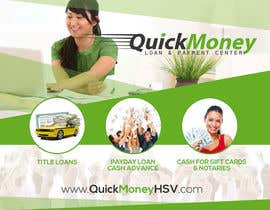 #18 for Design a Flyer for QuickMoney by thonnymalta