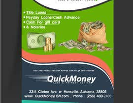 #4 for Design a Flyer for QuickMoney by ethancoder1