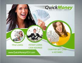 #14 for Design a Flyer for QuickMoney by ethancoder1