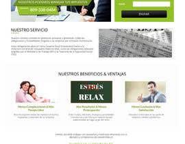 Nro 11 kilpailuun Hacer un boceto para un diseño web para Impuestofacil käyttäjältä AustralDesign