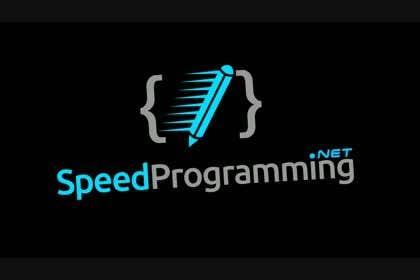#31 untuk Design a Logo for SpeedProgramming.net oleh Huelevel