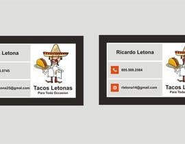 #14 for Design some Business Cards for a taco business af Shrey0017