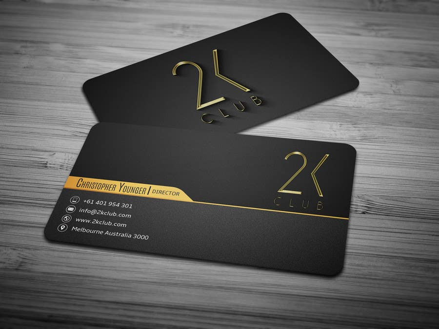 Entry 5 by anikush for Design some Business Cards for a social – Club Card Design