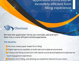 #7 cho Design a Brochure for our new OmniForms product bởi emarquez19