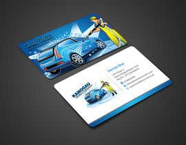 #6 cho Design a letterhead and business card for a car wash. bởi einsanimation