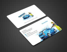 #10 cho Design a letterhead and business card for a car wash. bởi einsanimation