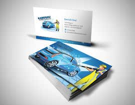 einsanimation tarafından Design a letterhead and business card for a car wash. için no 16