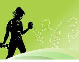 Nro 9 kilpailuun Abstract weight loss illustration käyttäjältä sosopo