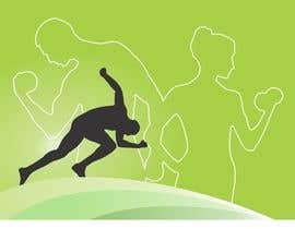 Nro 10 kilpailuun Abstract weight loss illustration käyttäjältä sosopo
