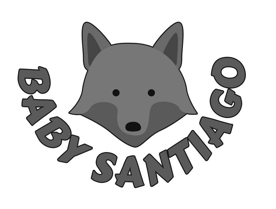 Kilpailutyö #13 kilpailussa Design a Cute Wolf Logo for Children's Clothing Store