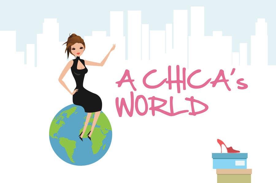 Bài tham dự cuộc thi #59 cho Design a Logo for A Chica's World