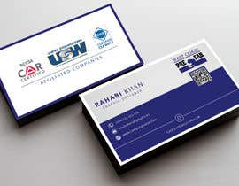 Nahidrahman19 tarafından Design a Business Card Template for WCPF için no 49