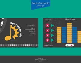 #3 for Illustrator Wireframes for Beat Mechanic af arakelian