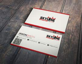 Nro 31 kilpailuun Design some Business Cards and Letter Head for Skyline Athletes LLC käyttäjältä Fgny85