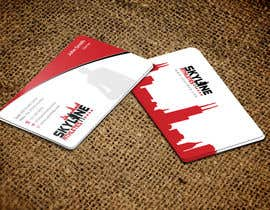 #19 untuk Design some Business Cards and Letter Head for Skyline Athletes LLC oleh einsanimation