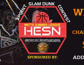#16 for Design a Banner Logo for My Up & Coming Basketball Event by appleiota