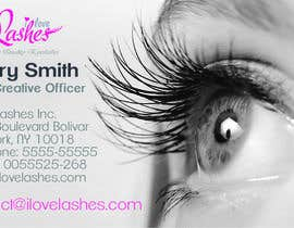 #14 for Desarrollar una identidad corporativa I Love Lashes by ccordobalugo