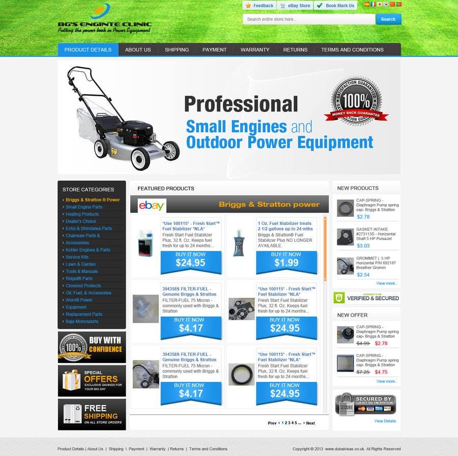 Inscrição nº                                         8                                      do Concurso para                                         Design an ebay Template for our eBay store & listings (Themed to our business)