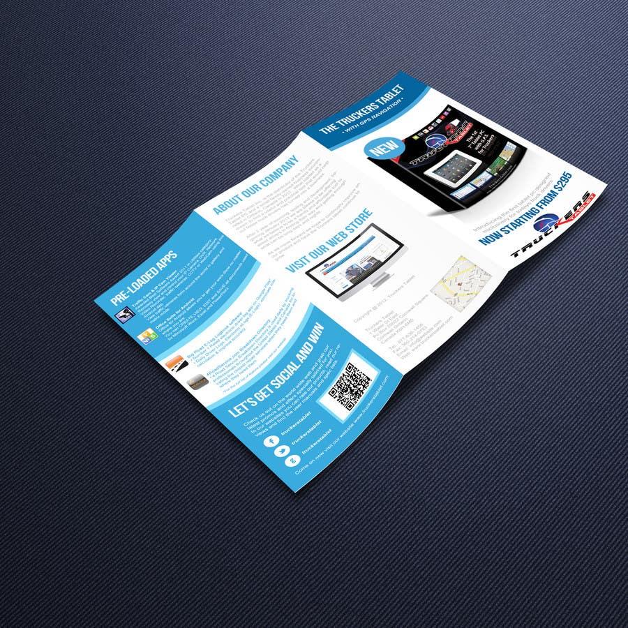 Inscrição nº                                         2                                      do Concurso para                                         Design a professional tri-fold product flyer