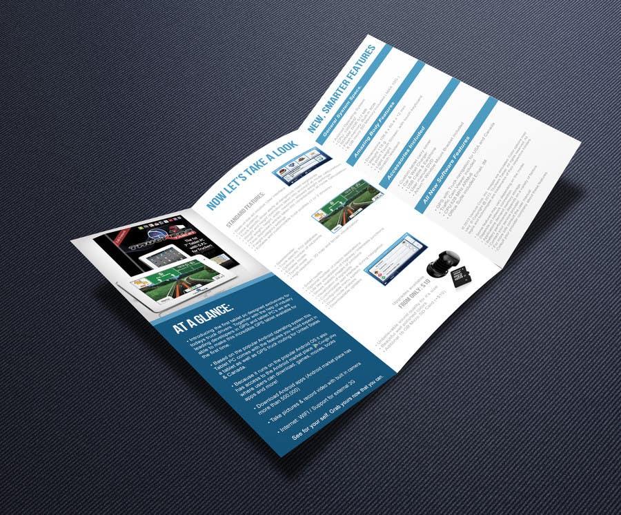 Inscrição nº                                         3                                      do Concurso para                                         Design a professional tri-fold product flyer