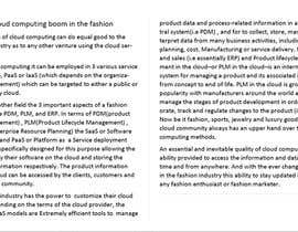 dshark52 tarafından Article competition: cloud tech for fashion business için no 3