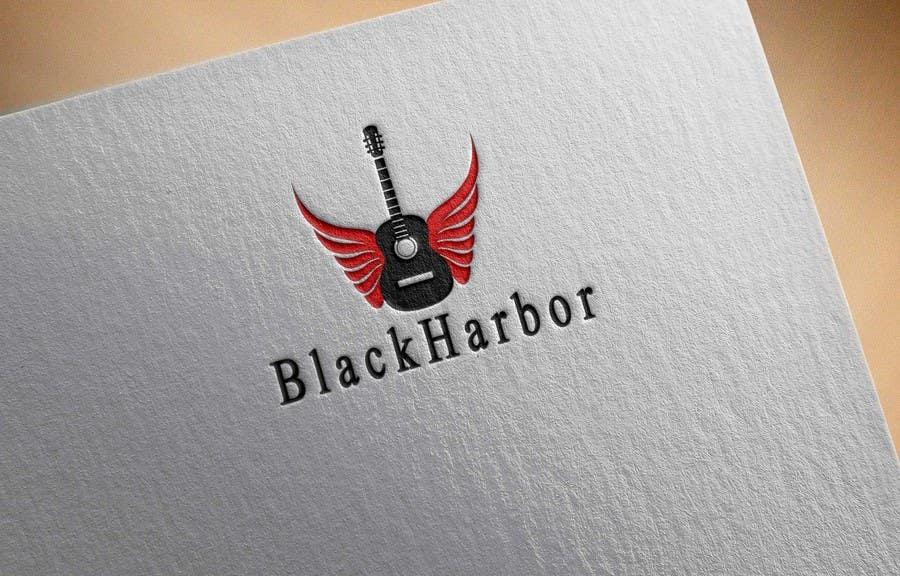 Konkurrenceindlæg #15 for Design a Logo for a Guitar Strings company called Black Harbor.