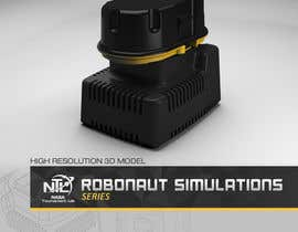 aoxsystems tarafından NASA Challenge: Develop 3D Models for Robonaut Simulation-Drill Battery and Charger için no 14