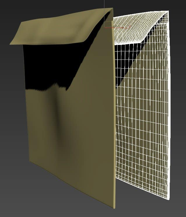 Contest Entry #5 for NASA Challenge: Develop 3D Models for Robonaut Simulation-Manila Envelope