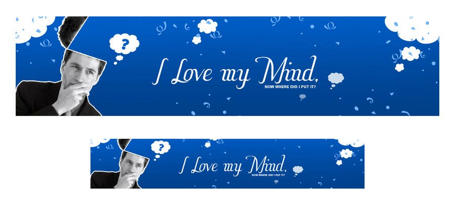 "Konkurrenceindlæg #                                        22                                      for                                         Banner Design for Online Magazine about ""My Mind"""