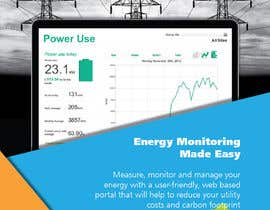 #8 for Design a Brochure for Energy Monitoring Product af pearl1803