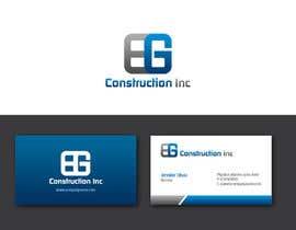 #89 untuk Design a Logo for EG Construction Inc oleh benson92