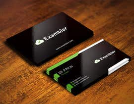 #61 untuk Design some Business Cards for Exambler oleh IllusionG