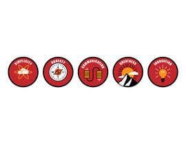 #1 untuk Design von Piktogrammen/logos oleh insann