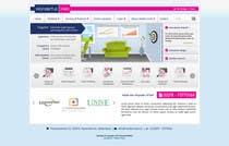 Graphic Design Entri Peraduan #33 for Design a Website Mockup for www.wonderfullweb.nl