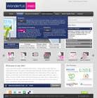 Graphic Design Entri Peraduan #23 for Design a Website Mockup for www.wonderfullweb.nl