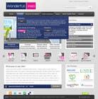 Graphic Design Entri Peraduan #38 for Design a Website Mockup for www.wonderfullweb.nl