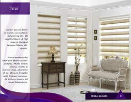 #4 untuk Design a Brochure for a blinds company(zebrablinds.com.au) oleh tramezzani