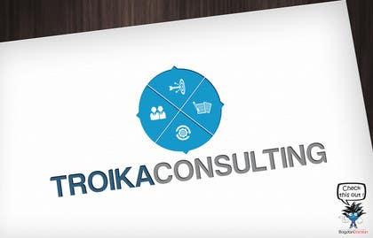 #15 untuk Design a Logo for Troika Consulting Ltd. oleh BDamian