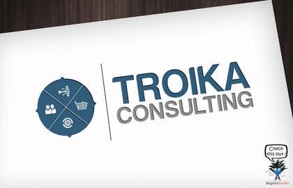 #16 untuk Design a Logo for Troika Consulting Ltd. oleh BDamian