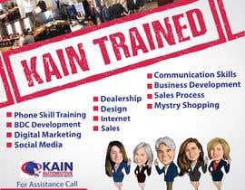 #96 untuk Design a Banner for Kain Trained Campaign oleh zeddcomputers