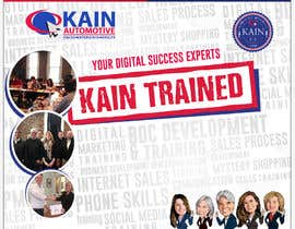 #57 untuk Design a Banner for Kain Trained Campaign oleh jonapottger