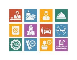 NILESH38 tarafından Hotel App Icons için no 8