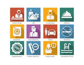 #30 for Hotel App Icons by NILESH38